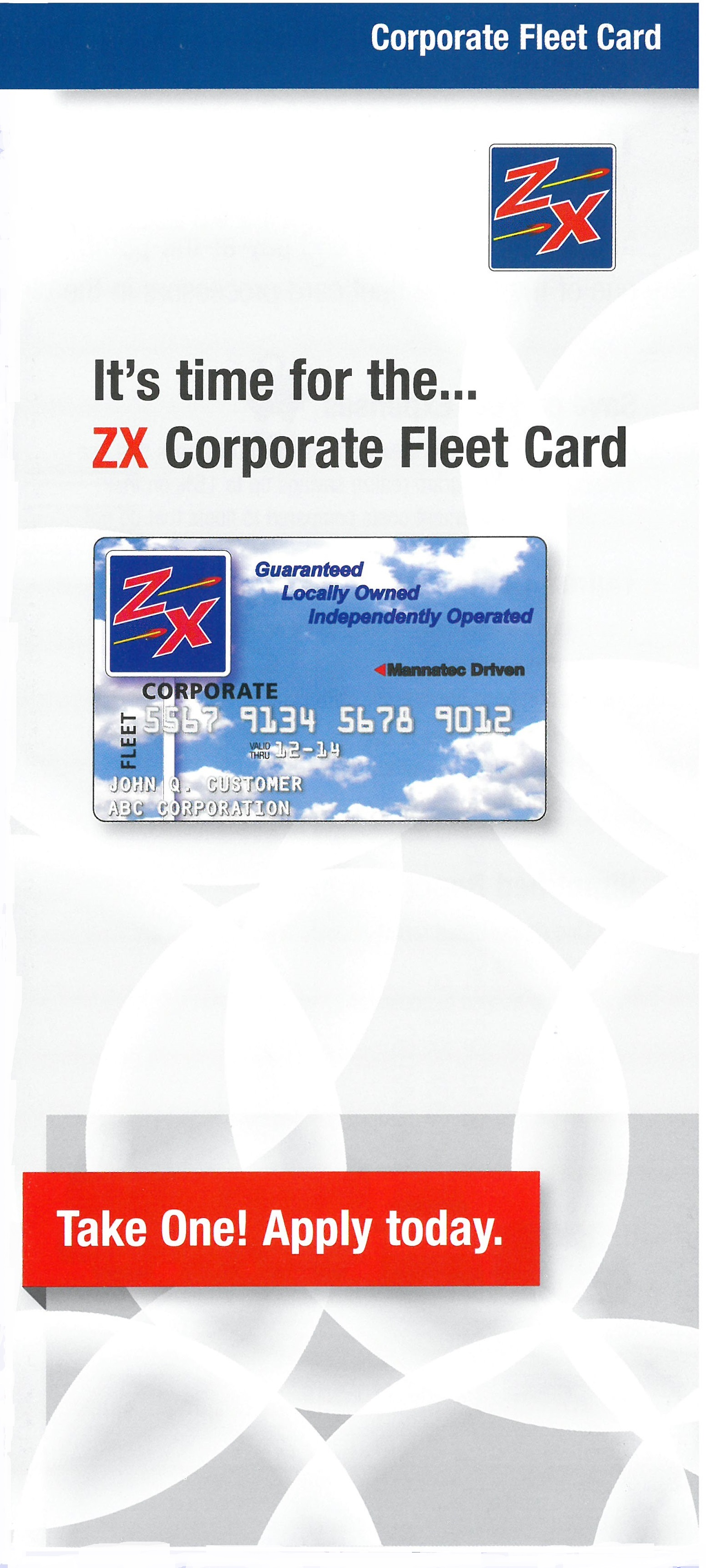 ZX Fleet Card - ZX Gas Stations and Convenience Stores